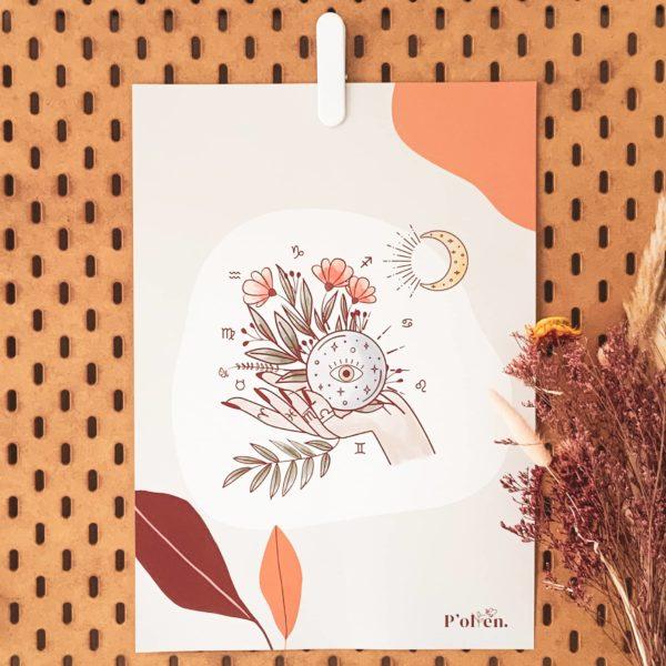 Affiche et calendrier en papier recyclé