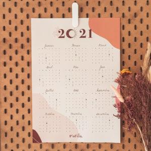 calendrier et affiche A3